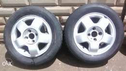 "14""tyres and rims foresale"