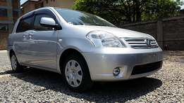 Silver 2012 model Toyota raumu 1500cc petrol automatic,Bank finance accepted
