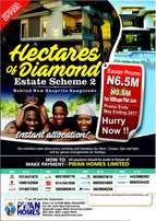 BUY a Plot of DRY land IN HECTARES OF DIAMONDS on Monastery Road