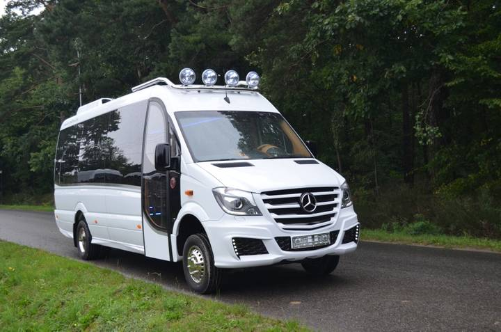 Mercedes-Benz Sprinter 4x4 2018 Artic Editon - 2018