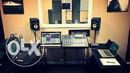 recording studio & live sound training