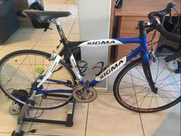 Sigma Nemesis Carbon Road Bike 54cm