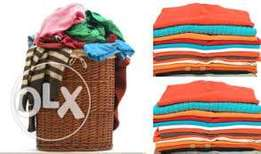 Wash and Fold Laundry services