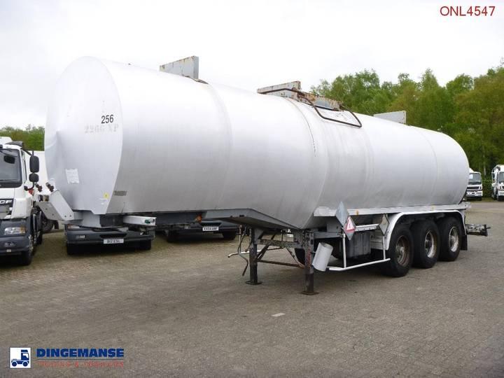 Netam-Fruehauf Bitumen / heavy oil tank steel 31 m3 / 1 comp - 1992