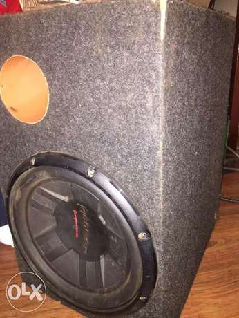 Pioneer Subwoofer with box cabinet- deep bass Westlands - image 1