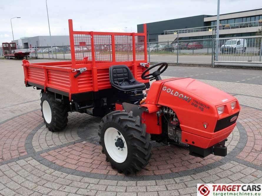 Goldoni Transcar 28RS Utility 4WD Tipper 3-Way Dumper NEW - image 3
