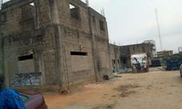 Masive structure on one arcre at iyano ipaja for sale.Serous buyer cal
