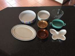 Pie Dishes, Serving Bowls + Platters