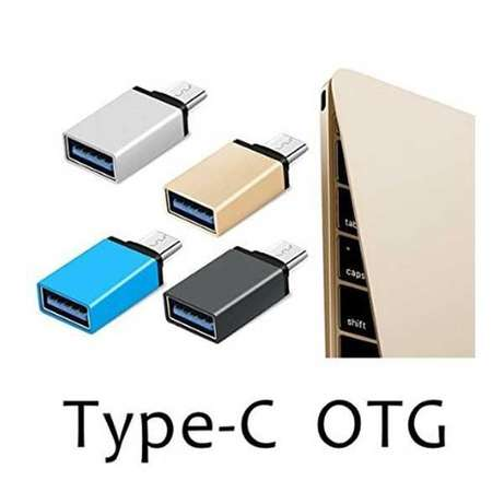 High-Speed Ultra-thin USB Type-C Male OTG to USB 3.0 Female City Square - image 2