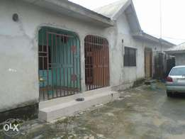 A standard 1 bedroom flat on a good access road at Rukpokwu