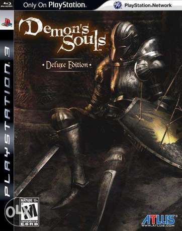 [RARE] Demon's Souls Deluxe Edition (with Artbook) - US/R1 - PS3 (NEW)