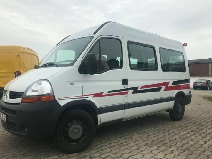Renault Master Lang+Hoch *9-Sitzer+Standheizung+Klima+ZV - 2010