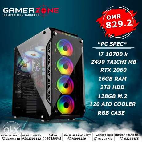 RTX 2060 Gaming PC Available now in gamerzone sohar branch