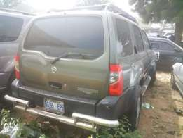 Nissan Xterra with auto/auxiliary gear. Call: 070312,60633.