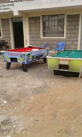 Wide jointers marble top pool table Pangani - image 4