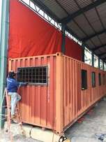 Container Stalls, Offices, Buildings