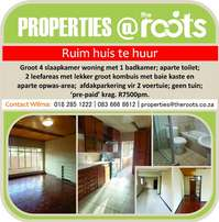 House for rent in Potchefstroom