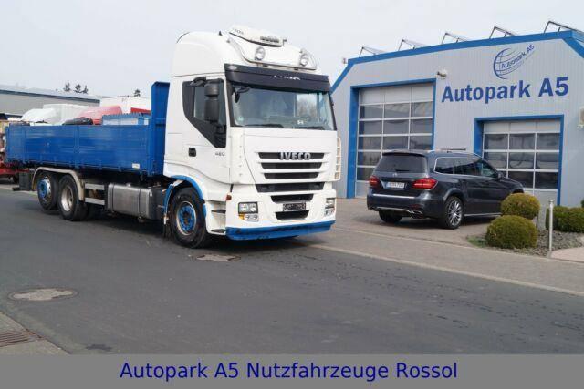 Iveco Stralis 420 Euro 5 EEV Dreiseitenkipper - 2011