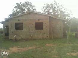 3 bedroom incomplete house for sale at Kiritiri Embu