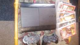 Playstation 3 with 8 games For Sale