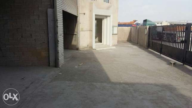 1200 sqmr Store with 10 Rooms for rent