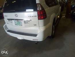 Extremely Clean One Month Registerd 2008 Lexus Gx 470 Full Option Dvd