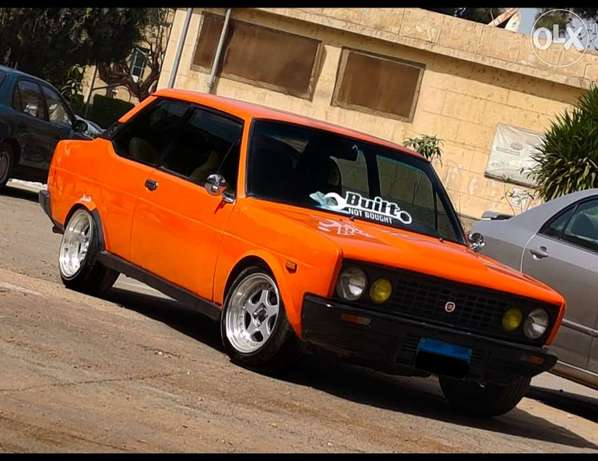 Fiat 131 coupe racing