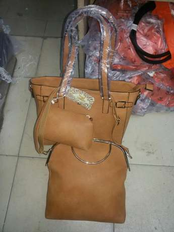 Leather handbags Ngata - image 5