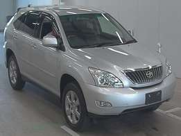 Foreign Used Toyota Harrier Silver 2012 Asking Price 3,250,000/=