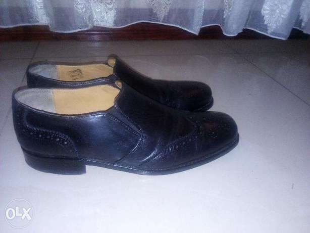Size 12 US Oxford Shoe HaryKson Genuine Leather. Excellent Condition Nairobi CBD - image 3