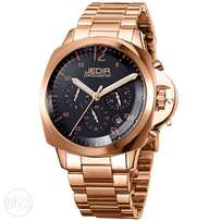 Posse II Gold Steel Night Dial Chronograph Business Watch by Jedir