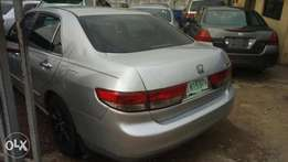 Super clean Honda accord 2003 model nothing to fix just like tokunbo