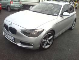 2013 BMW 118i Automatic,Silver color