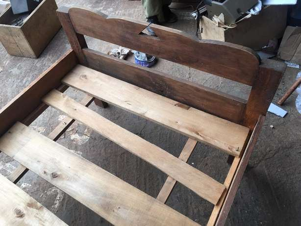 Wooden Bed Frame Westlands - image 4