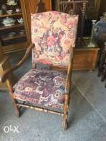 antique chair, hand made