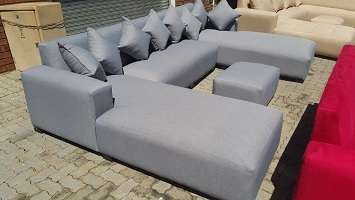 U-shape open on both daybeds,choose your fabric and colour Midrand - image 3