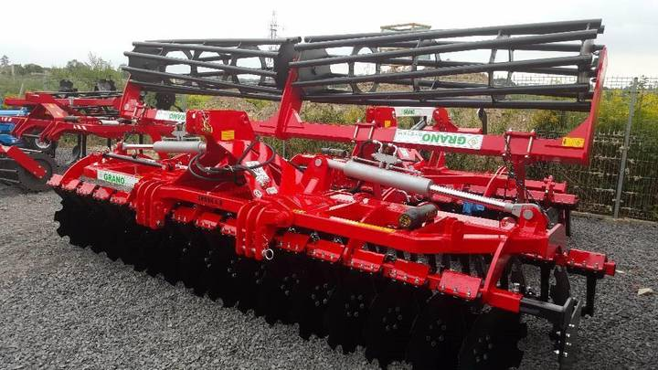 Top-Agro Grano Disc Harrow 4, Ofas 560mm, Roller 500mm - 2019