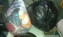 2 bags clothes