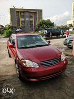 2004 Toyota Corolla LE For Sale (tokunbo, Lagos Port Cleared)