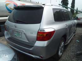 super clean highlander 2008 full options thumb start (toks grade)