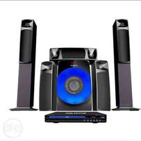 Brand New polystar home Theater with Bluetooth DVD (4100watts) 5.1ch