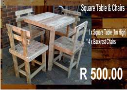 PRICED TO GO - 3 x Table & Chairs sets