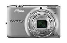 Nikon Coolpix S5600 Wifi Digital (silver) for sale