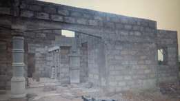 3 Bedroom Uncompleted House For Sale