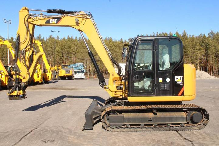 Caterpillar 308 E 2 Cr / Myyty - 2014