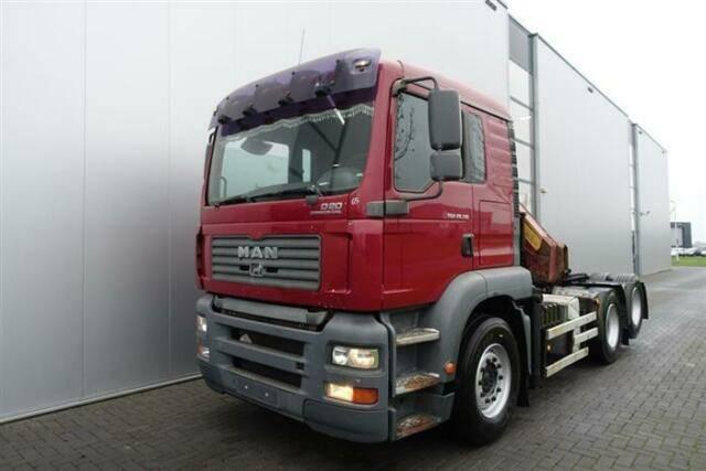 MAN Tga28.310 6x2 Crane/kran Hmf 1220 K4 Ual Euro - 2006 - image 4