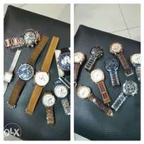 BIG SALE on 100% original name branded mans watches
