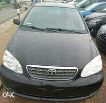 A foreign used Toyota Corolla 2006