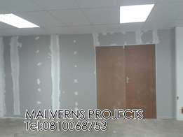 Drywall Partitioning Ceilings Bulkheads Rhinolite Painting Renovations