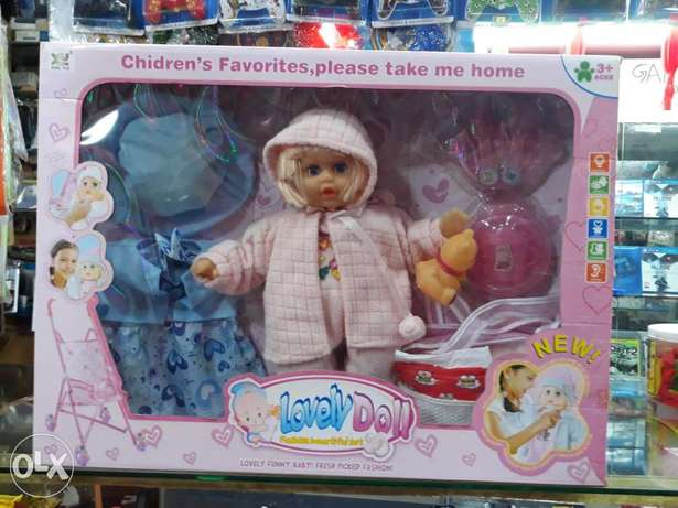 Baby doll kids toys singing baby